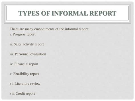 report writingtypes format structure  relevance