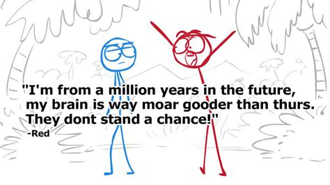 Dick Figures Meme - red quotes dick figures wiki