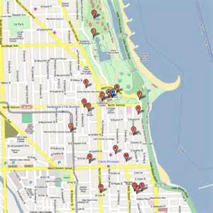 Chicago Museums Map by Zanies Comedy Club Related Keywords Zanies Comedy Club
