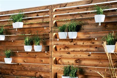 super unique fence planters thatll   loving