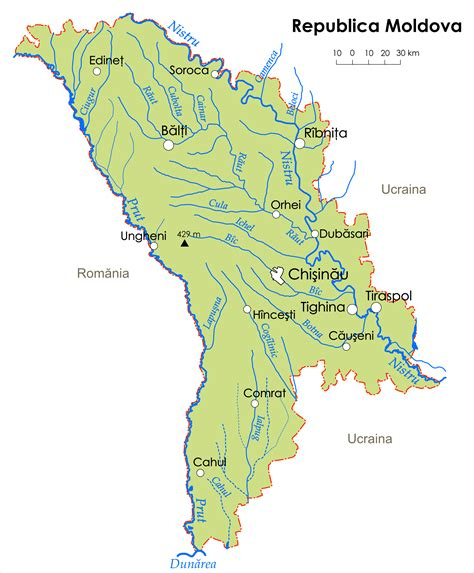 moldova map file republica moldova png