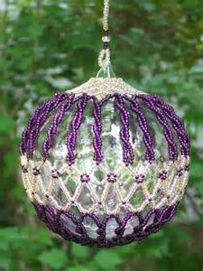 Beaded Ornament Covers » Home Design 2017