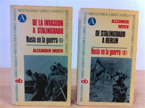 libro rusia rusia en la guerra de alexander werth bruguer comprar libros antiguos y literatura militar