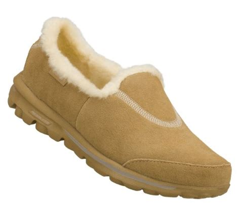 Skhecers Go Walk Suede Leather skechers walking shoes skechers go walk toasty womens