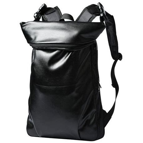 Tas Ransel Tas Backpack 157 tas ransel korean style city pu leather backpack black