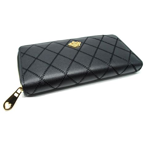 Dompet Crown dompet wanita model crown black jakartanotebook