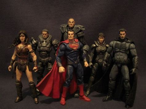 Promo Custom Superman 3 custom made batman v superman figures geektyrant