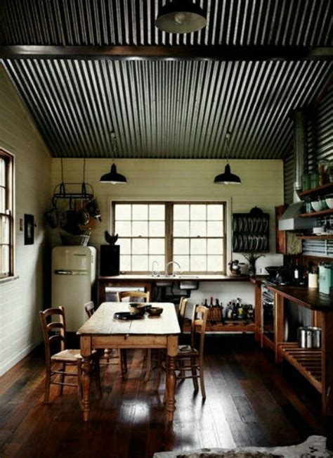 Kitchens With Tin Ceilings by Tin Ceiling Kitchen