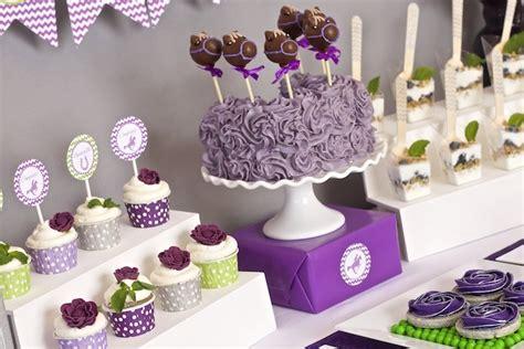 Plum Purple Wedding Decorations Kara S Party Ideas Kentucky Derby Themed Bridal Shower