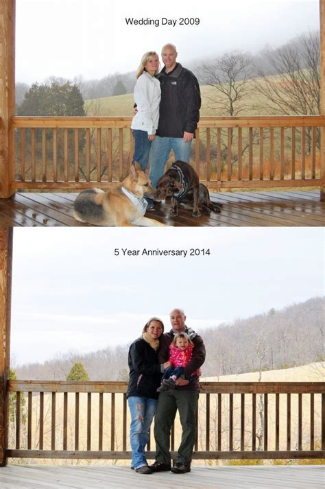 Then and Now: 5 Year Wedding Anniversary   Adventure