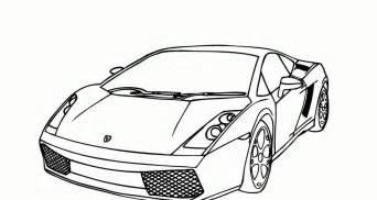 galer237a de im225genes dibujos coches para colorear sketch template