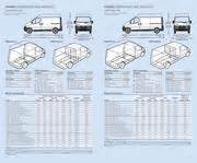 Vauxhall Combo Interior Dimensions Vauxhall Movano Specifications 2006 By Vauxhall
