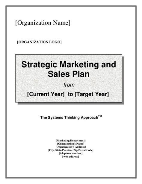 9 sales plan templates word excel pdf formats