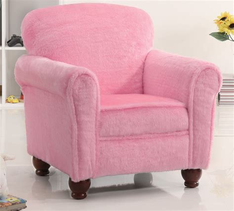Plush Chair by Plush Youth Chair In Fuzzy Pink Stargate Cinema