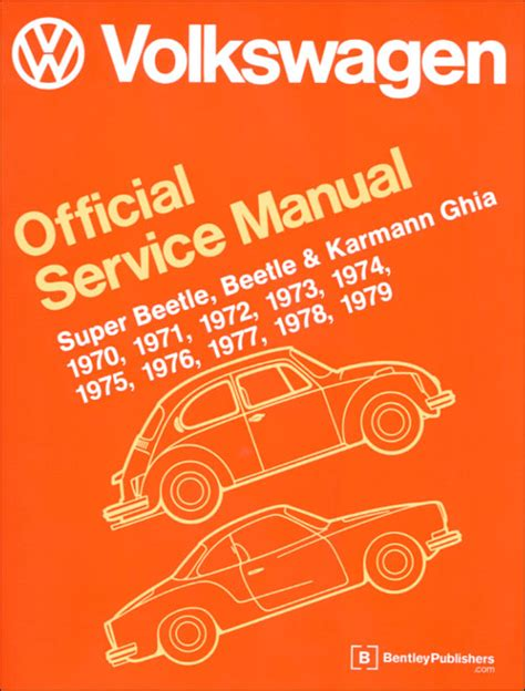 online car repair manuals free 1989 volkswagen type 2 auto manual front cover vw volkswagen repair manual super beetle beetle and karmann ghia service