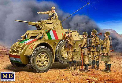 Capitan Tweezer italian crew 5 plastic model vehicle kit 1 35 scale 35144 by master box 35144