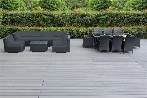 outdoor sectional sofa set genuine 16 piece ohana wicker patio furniture set outdoor