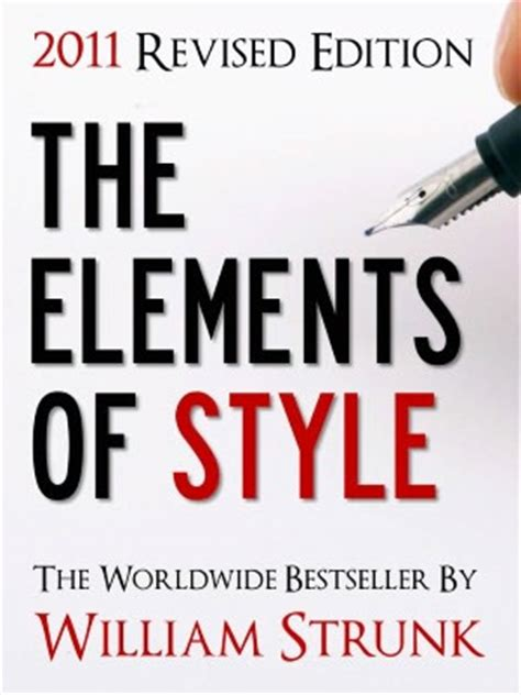 the elements of style books news on relevant science 15 books that should be on every