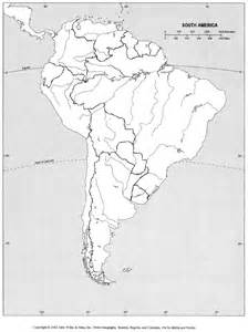map of south america river blank outline maps