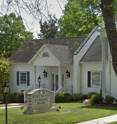 strickland funeral home wendell nc funeral zone