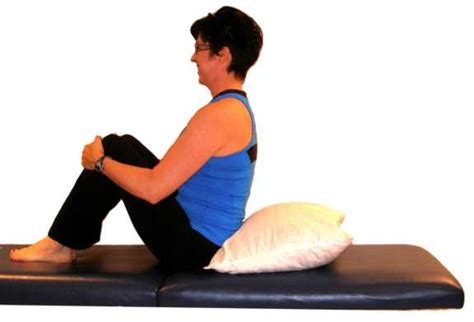 Kyphosis Pillow by Back Stretches With Pictures And Explanations