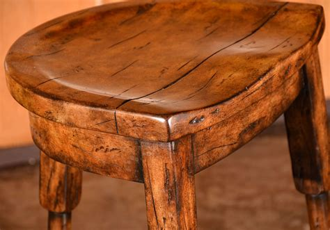 saddle bench stool saddle seat bar stool at 1stdibs