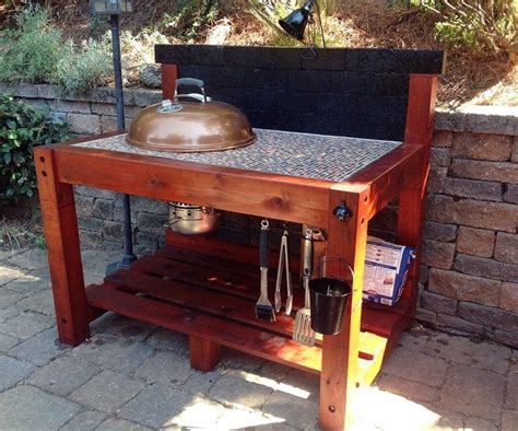Bbq Table by 25 Best Ideas About Bbq Table On Weber Bbq