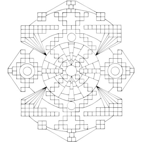 test pattern of atomic energy free mandala coloring pages to print beautiful neoteric