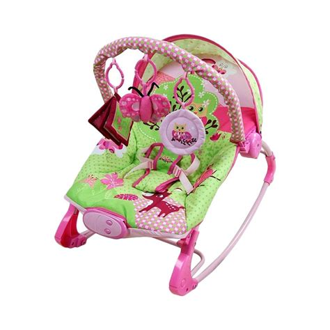 Sugar Baby Rocker Pink by Jual Sugar Baby Premium Owl Rocker Baby Bouncer