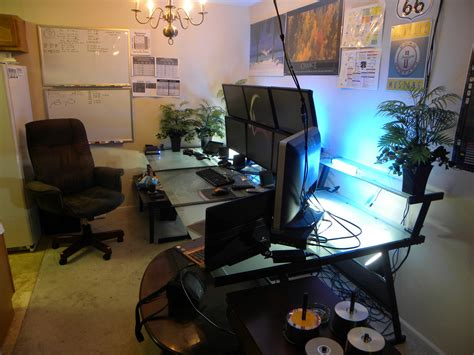 best corner desk for 3 monitors desk astounding 3 monitor computer desk 3 monitor desk