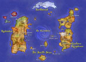 Wow World Map by Azeroth World Map Scrolls Of Lore Forums