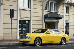 Bentley Yellow Bentley Spotting Yellow Bentley Mulsanne