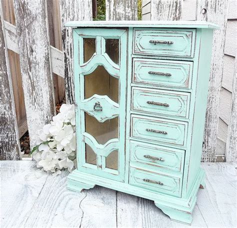 shabby chic jewelry armoire 17 best ideas about shabby chic cabinet on pinterest