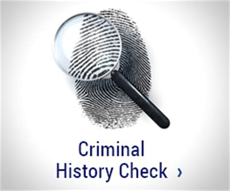 Fingerprints For Criminal Record Check Corporation For National And Community Service