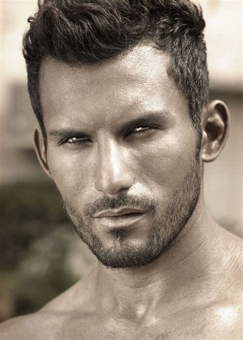 rugged hair 25 of our favorite short hairstyles and haircuts for men