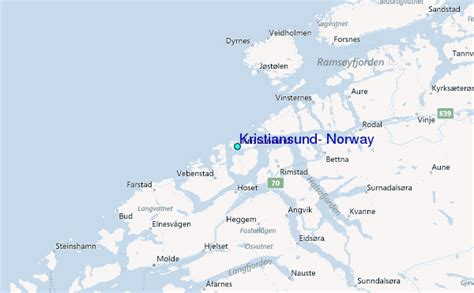 regional map local map detailed map kristiansund norway tide station location guide