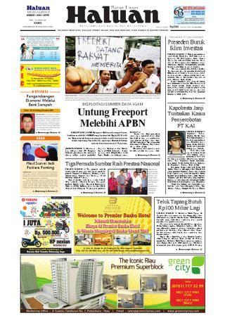 Menjadi Tuan Di Negeri Sendiri Pergulatan Kerakyatan Kemartabatan haluan 03 november 2011 by harian haluan issuu