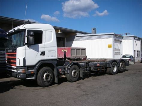 scania 164 480 8x2 6 chassis truck from finland for sale