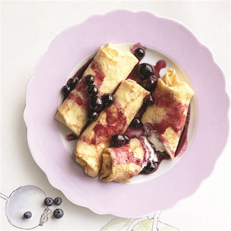 blintz recipe cottage cheese blueberry and cheese blintzes recipe chatelaine
