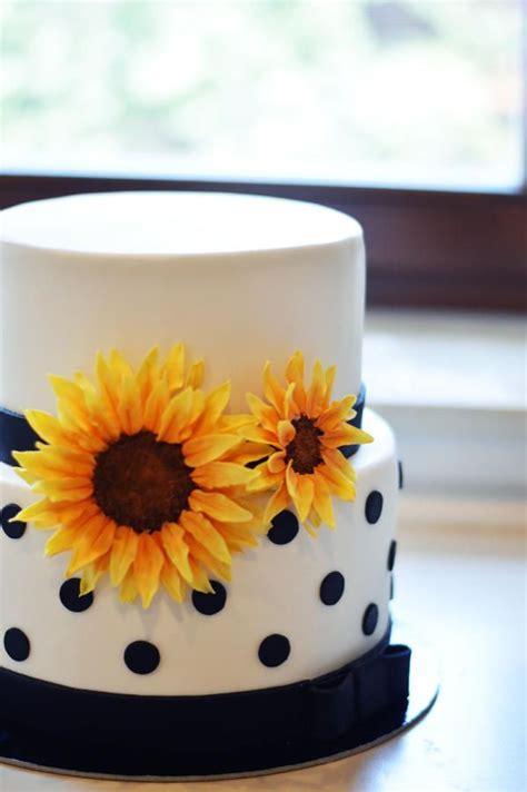 Sunflower cake   Cake by FreshCake   Cake, cupcake, and