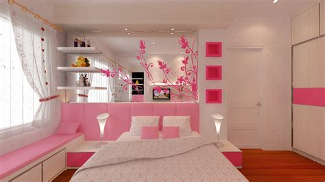 desain wallpaper dinding kamar remaja tips memilih wallpaper kamar tidur anak perempuan