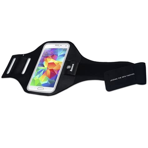 Baseus Sports Armband 5 5 Inch baseus sport armband for smartphone up to 5 inch black