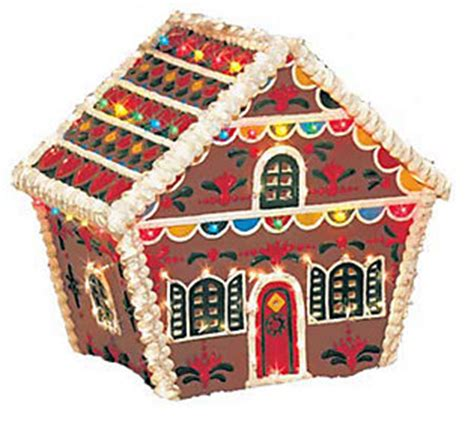 outdoor gingerbread decorations gingerbread house outdoor decoration qvc