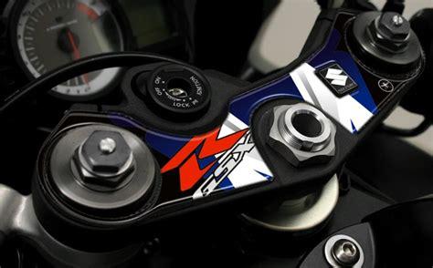 Aufkleber F R Motorrad Suzuki by Aufkleber 3d Gsxr Schutz Platte Lenkung Kompatibel F 252 R