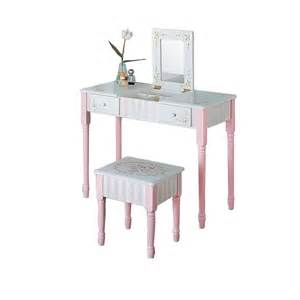 Vanity Table And Stool Children S Bouquet Vanity Table And Stool Set Baby N Toddler