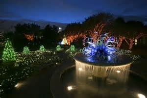 Botanical Gardens Garden Of Lights 5 Atlanta Lights Shows You Don T Want To Miss Wabe 90 1 Fm