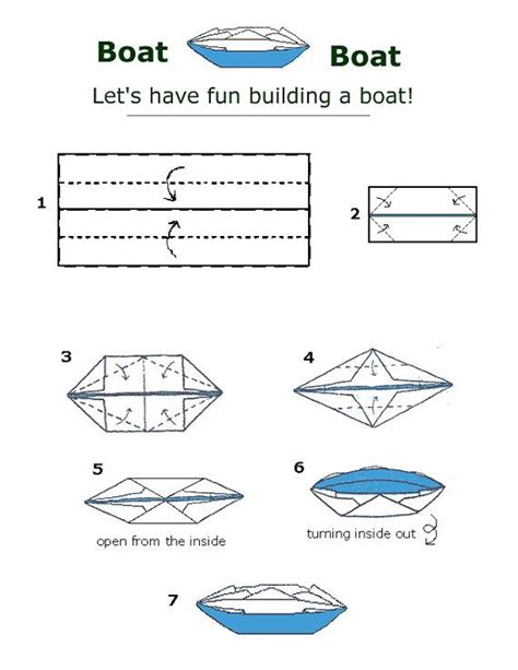 Origami Boat Directions - 13 curated money origami ideas by ljmy photo and