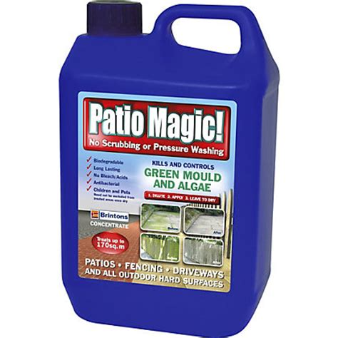patio magic surface cleaner 5l