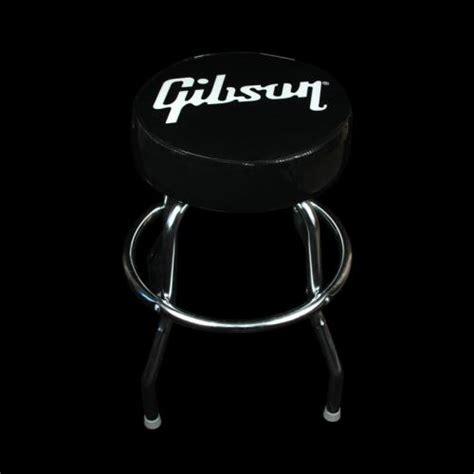 Gibson Stool by Gibson Logo Bar Stool Black Gino Guitars