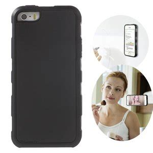 anti gravity free selfie cover zwart iphone 5 5s se hoes